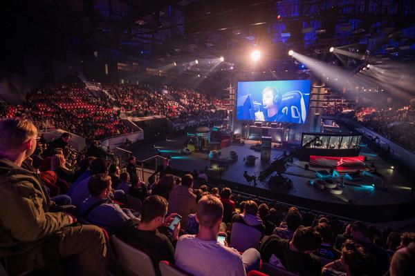 esports世界大会会場