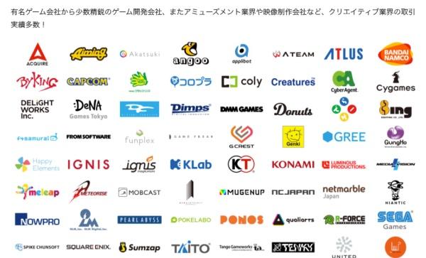 ゲーム業界との強いコネクション